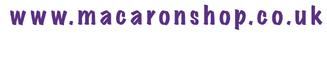 www.macaronshop.co.uk, Call 01158 590530
