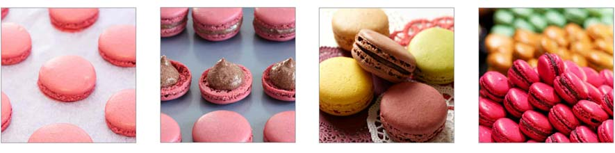 Various Imgeas of French Style Macarons
