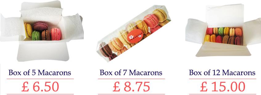 Macarons online shop